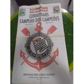 08 Jornais Corinthians Gazeta Esportiva Lance Frete Grátis