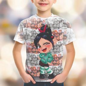 Camiseta Personalizada Wifi Ralph Quebrando A Internet Hd 03