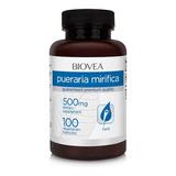 Pueraria Mirifica 500mg 100 Cápsulas Original - Biovea