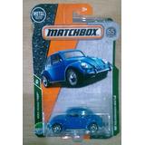 Matchbox 62 Volkswagen Beetle Azul Volcho Vw 2018