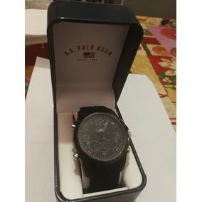 Reloj Negro Us Polo Assn Original