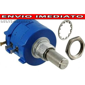 Potenciômetro Multivoltas 10k 3590s Kit Com 10 Unidades