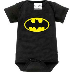 Body Infantil Batman Personalizado