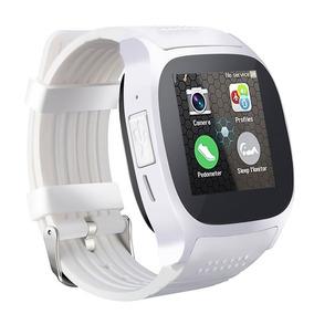 efcd116b6ab Relógio Inteligente T8 Bluetooth Com Câmera Cor Branco