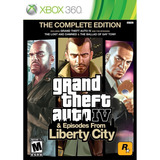 Grand Theft Auto Iv & Episodes From Liberty City Xbox 360