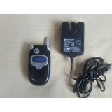 Motorola V300 Raridade Da Oi Com Carregador...