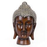 Craftvatika 16 Gran Cabeza De Buda Estatua Busto De Buda