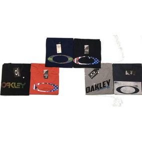Kit 5 Camisa Oakley Quiksilver Rip Curl Volcon Atacado