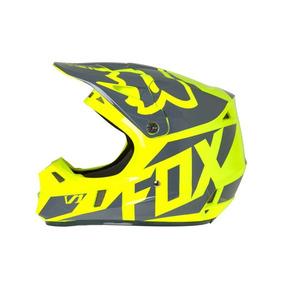 Casco Fox V1 Race Yellow Rider One