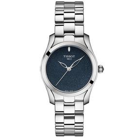 Reloj Tissot T- Wave Cara Azul T1122101104100 Ghiberti