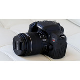 Canon T6i Eos Rebel Dslr 24.2 Mp- Wifi + 3 Lentes