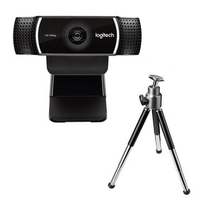 Webcam Logitech C922 Pro Stream Full Hd 1080p/30fps C/tripé
