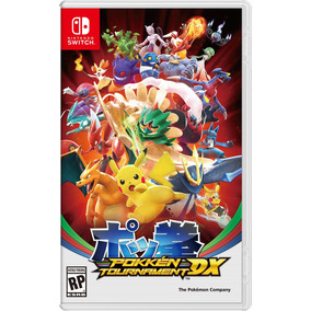 Videojuego Nintendo Switch Pokken Tournament Dx Nintendo