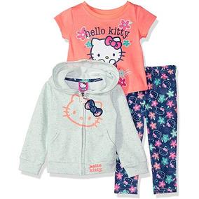Conjunto Infantil Menina Hello Kitty Importado Original acecf455a5d49