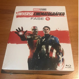 Coleção Marvel Bluray Fase 1