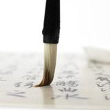 Set 3 Pinceles Caligrafía China Sumi Fino Medio Grueso Nuevo