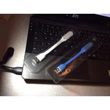 Kit 2 Luminária Usb Led Flexível Colorida Pc Mac Notebook