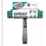 Mop Rodo Magico Limpa Vidros Janelas Com Spray 3em1 Promoção