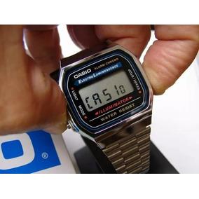 40516338e49 Relogio Casio Silver Retro - Relógios De Pulso no Mercado Livre Brasil