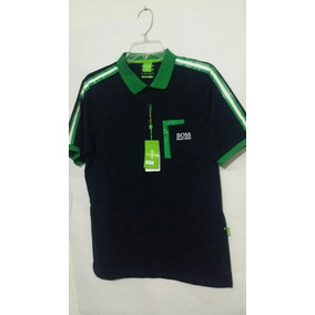 Playera Polo Hugo Boss Green Line Color Blanco - Playeras de Hombre ... 837142c2b95ca
