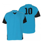 0d2aef7231 Jogo 18 Camisas Futebol Futsal Volei Munique Azul pre Adulto