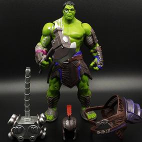 Boneco Hulk Gladiador 20cm Thor Ragnarok + Brinde!!!