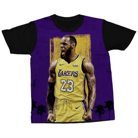 Camiseta Le Bron James Jogador Basquete Nba Blusa Camisa 51e21d95908e3