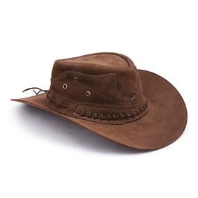 9db2b5a6cb7a2 Chapeu De Tecido Australiano Masculino - Chapéus Country no Mercado ...