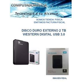 Disco Duro Externo 2 Tb Western Digital Usb 3.0