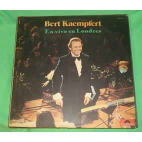Lp Vinilo Bert Kaempfert En Vivo En Londres