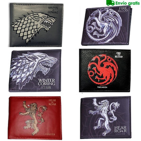 Game Of Thrones Cartera Stark Juego De Tronos Billetera Got
