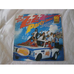 Lp Saragossa Band Zabadak Party Total, Flashback Remixes