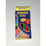 Lápices De Colores Cortos Caja X 6 Colores