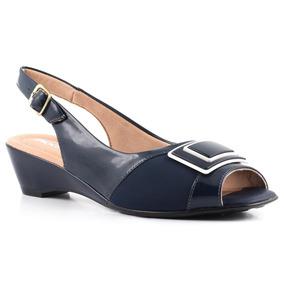 4631c48fc Sapato Boneca Piccadilly Confort Com Anabela - Sapatos no Mercado ...