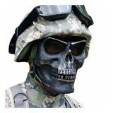 Careta Tactica Gotcha Militar Mercenario Calavera Ng D1004