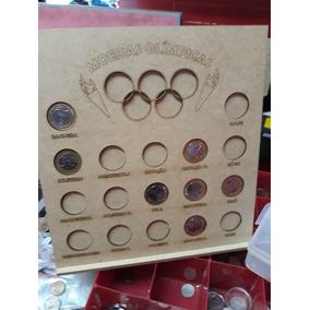 Quadro Expositor Para Moedas Das Olimpíadas