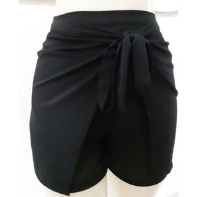 Short Envelope Transpassado Plus Size