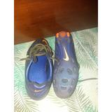 Chuteira Nike Ctr 360, Couro De Canguru, Usada.