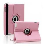 Funda iPad 2 3 4 Giratoria 360° Simil Cuero Colores