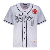 Camisa Baseball Vasco Branca