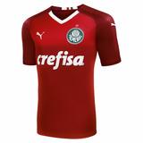 Camisa Palmeiras Vermelha Torcedor Pronta Entrega