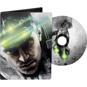 Steelbook Splinter Cell Blacklist Ps3-xbox 360 Novo Lacrado