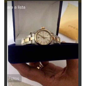 Rolex Original , Em Prata E Ouro 48,32 Gr