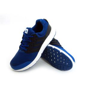 wholesale dealer 024f6 42e6b Zapatilla adidas Galaxy 3 Azul   Negro Running Hombre Eezap