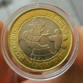 Lote-1004-moeda Dh-comemorativa Dos Direitos Humanos-fc.
