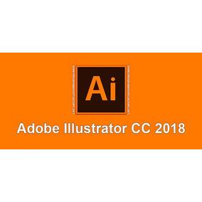 Programa Illustrator Cc 2018,d Por Vida Y Video Guia