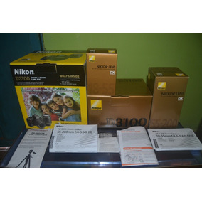 Cámara Nikon D3100 Y Accesorios