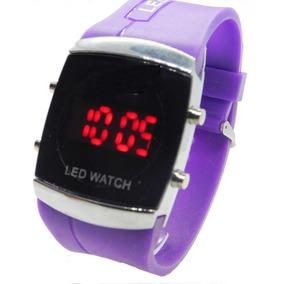 Relogio Digital Feminino Barato Roxo - Relógios De Pulso no Mercado ... 5a3ed1c938