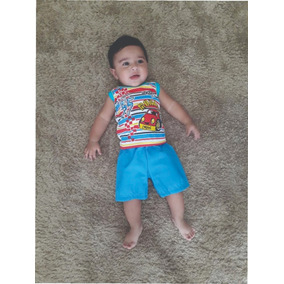 Coisas De Bebê Roupinhas Atacado Menino Kit C/3 Conjuntos