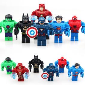 Figuras Compatible Con Lego De Superheroes Con Armadura